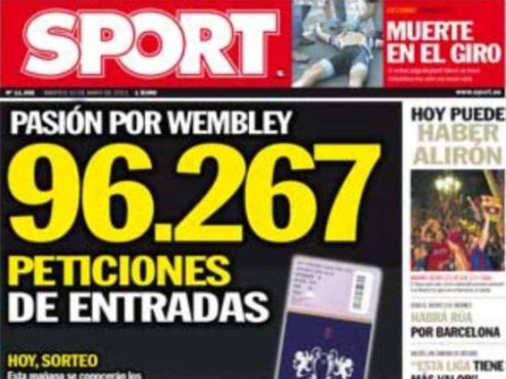 90.000 Καταλανοί για Γουέμπλεϊ
