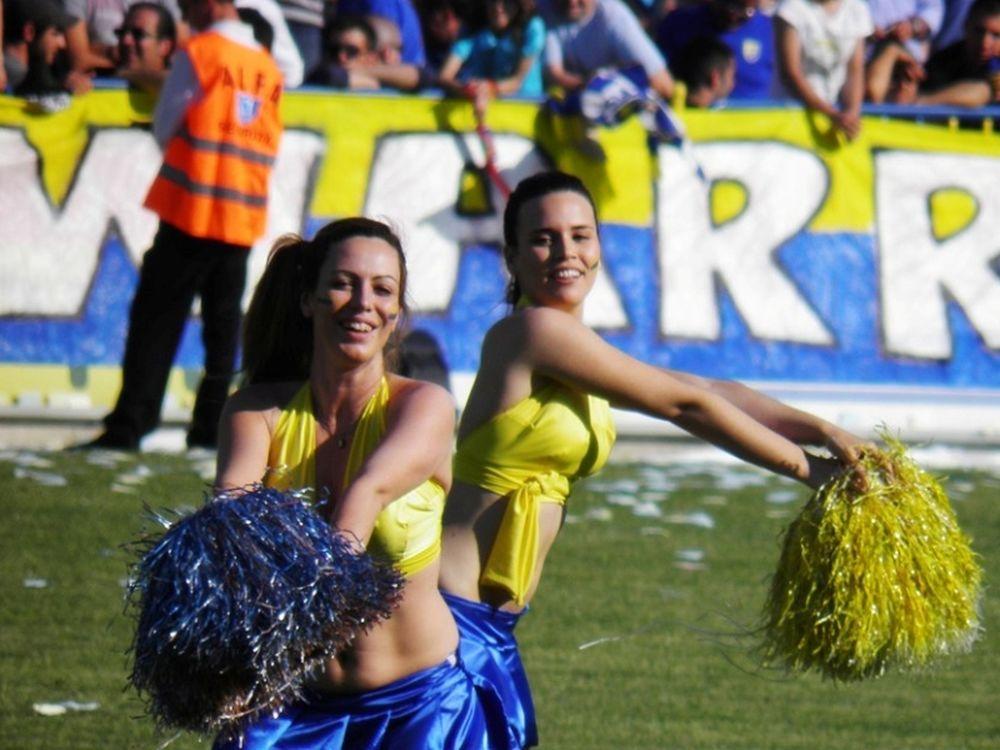 Οι cheerleaders του Παναιτωλικού! (vd)