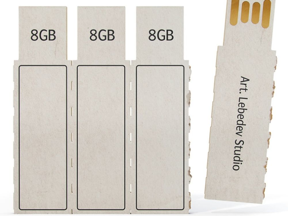 Το χάρτινο USB Stick