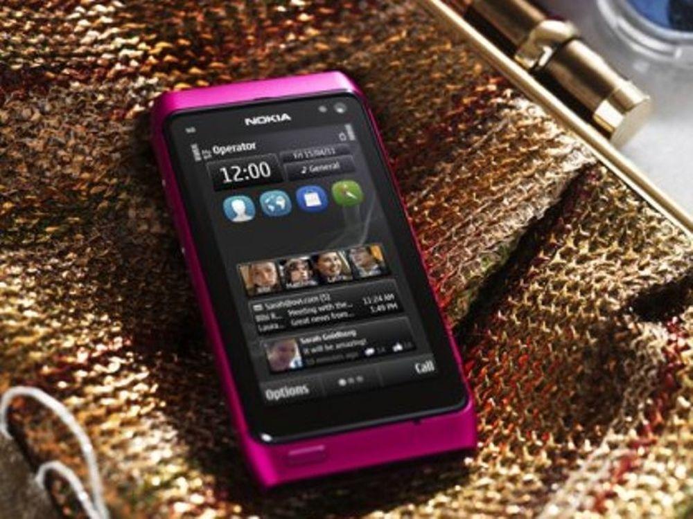 Ροζ» smartphone