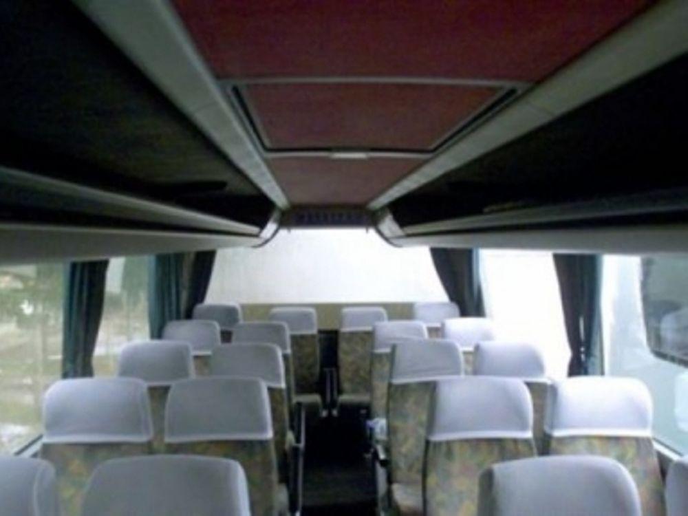 Χωρίς τουριστικά λεωφορεία