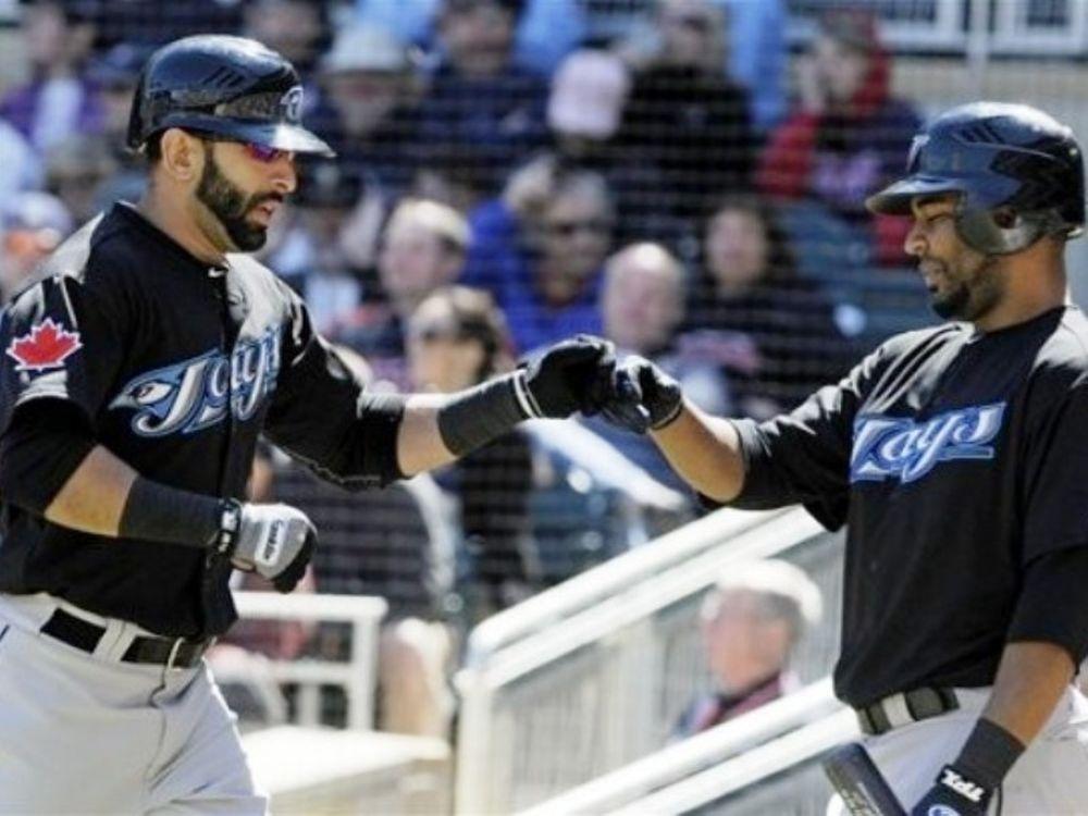 Χατ τρικ home runs του Bautista