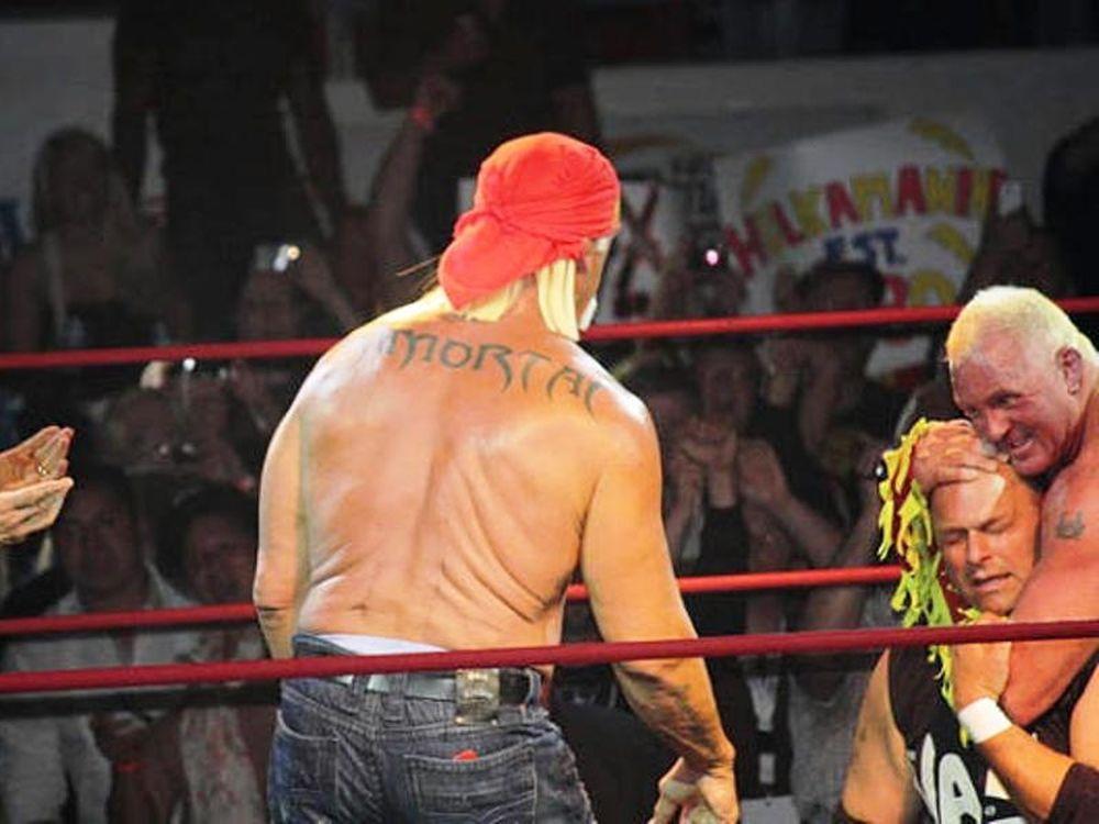 Το νέο τατουάζ του Hulk Hogan
