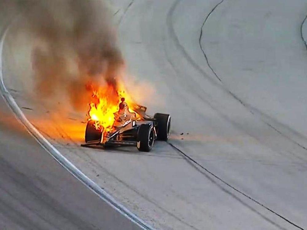 Ατύχημα στο Indy 500