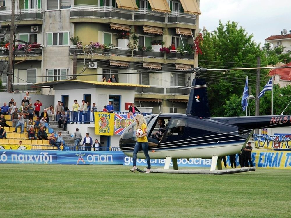 Με… ελικόπτερο στην Super League