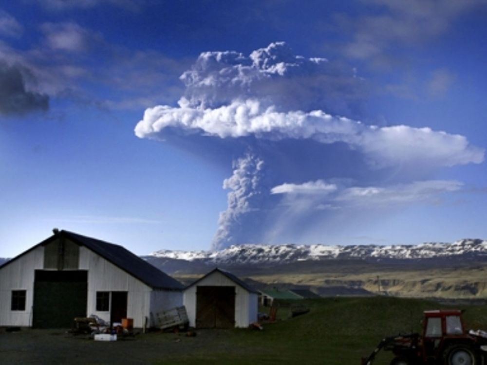 «Ξύπνησε» το ηφαίστειο