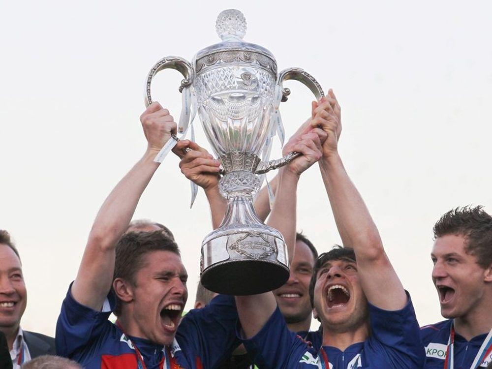 Κύπελλο με Ντουμπιά για ΤΣΣΚΑ