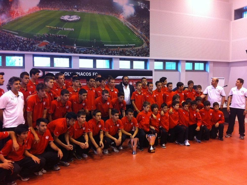 «Είστε το μέλλον του Ολυμπιακού!»