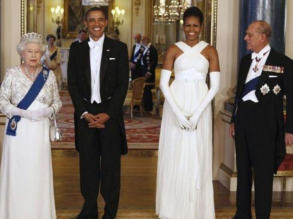 To δείπνο Ομπάμα – Βασίλισσας