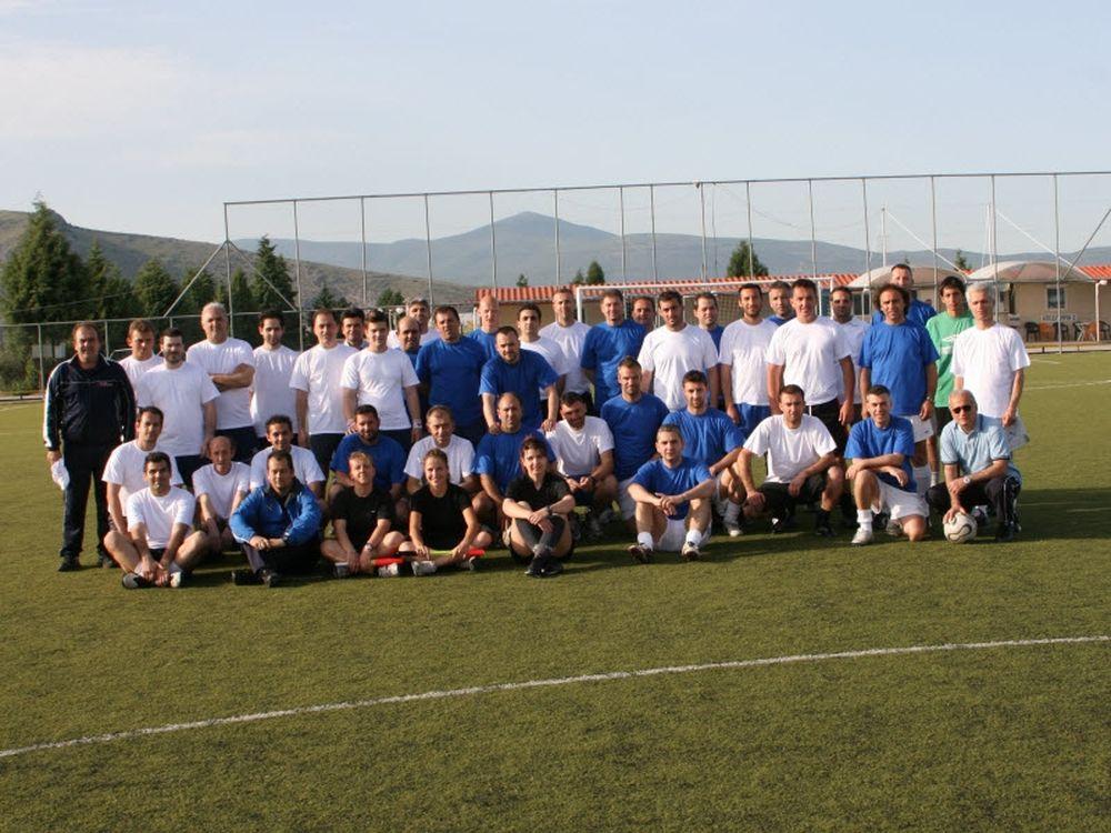 Ισόπαλοι προπονητές-διαιτητές