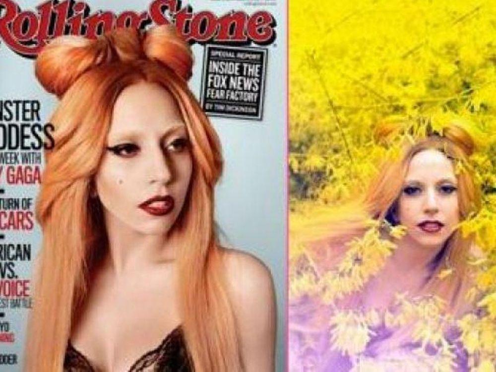 Η GaGa στο Rolling Stone