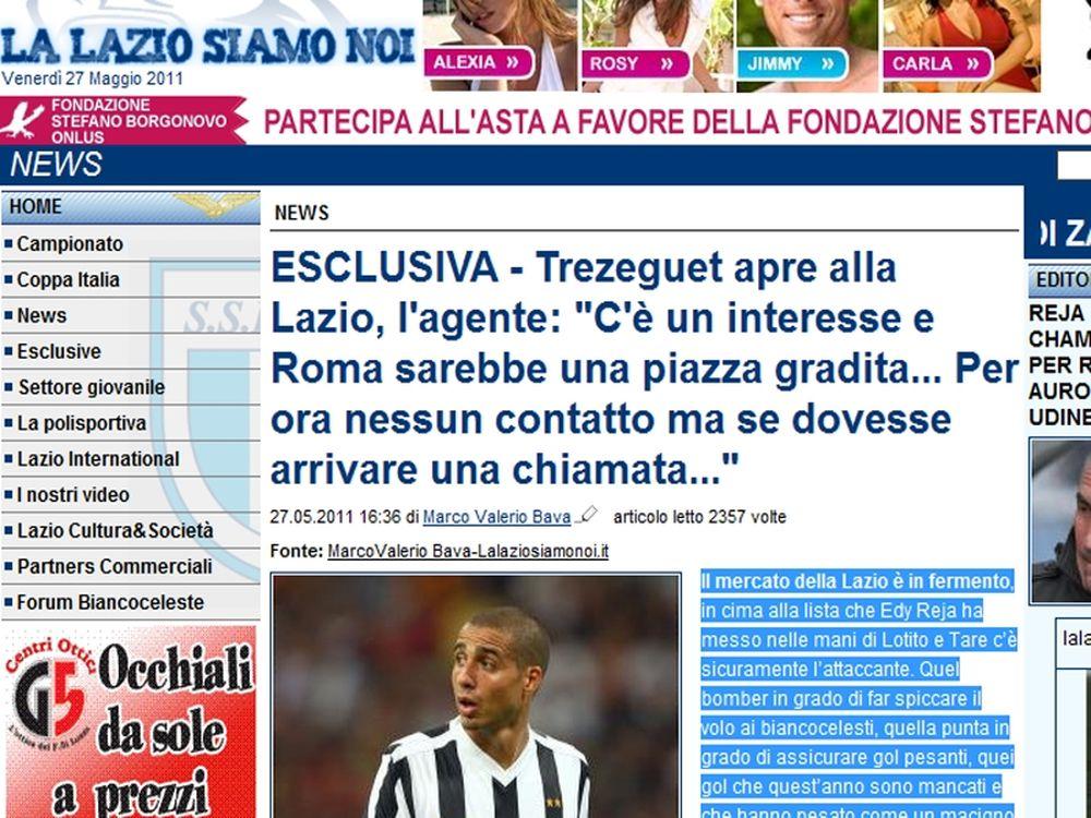 Ο Τρεζεγκέ προτιμάει Ιταλία