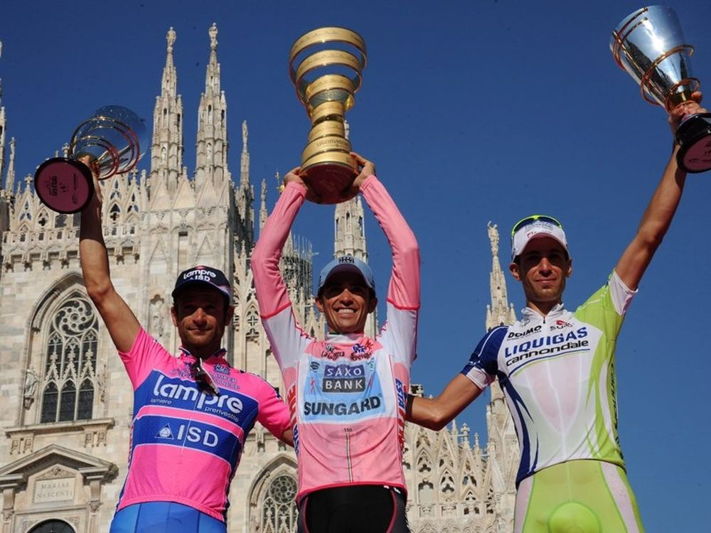 Στον Κονταδόρ ο Giro d' Italia