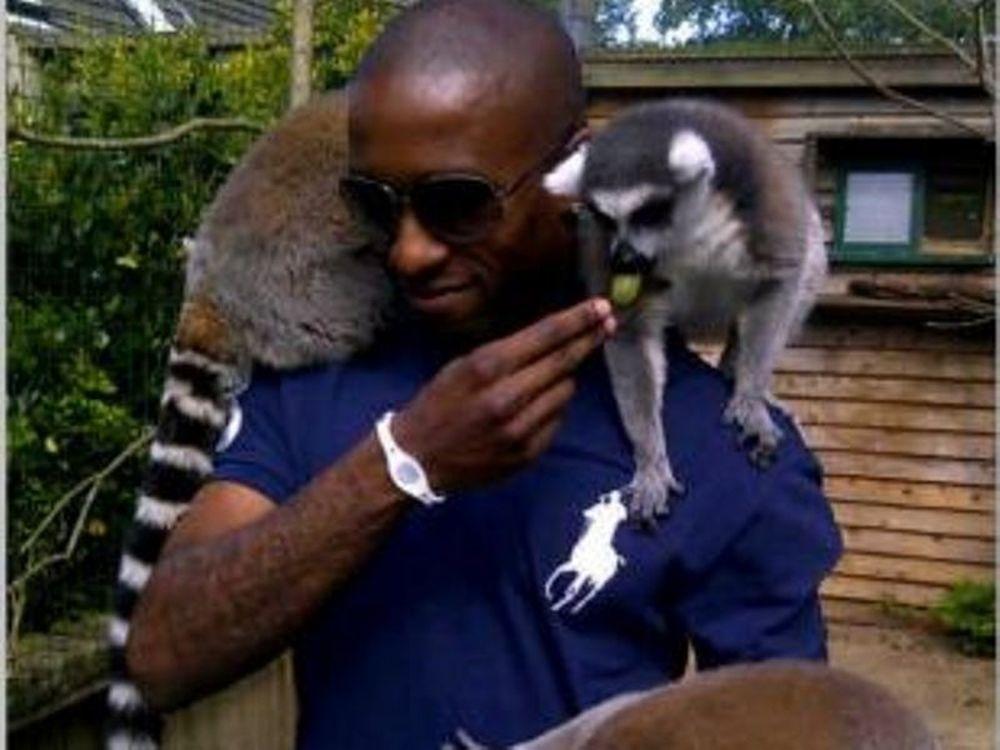O Ντεφόε σε ζωολογικό κήπο