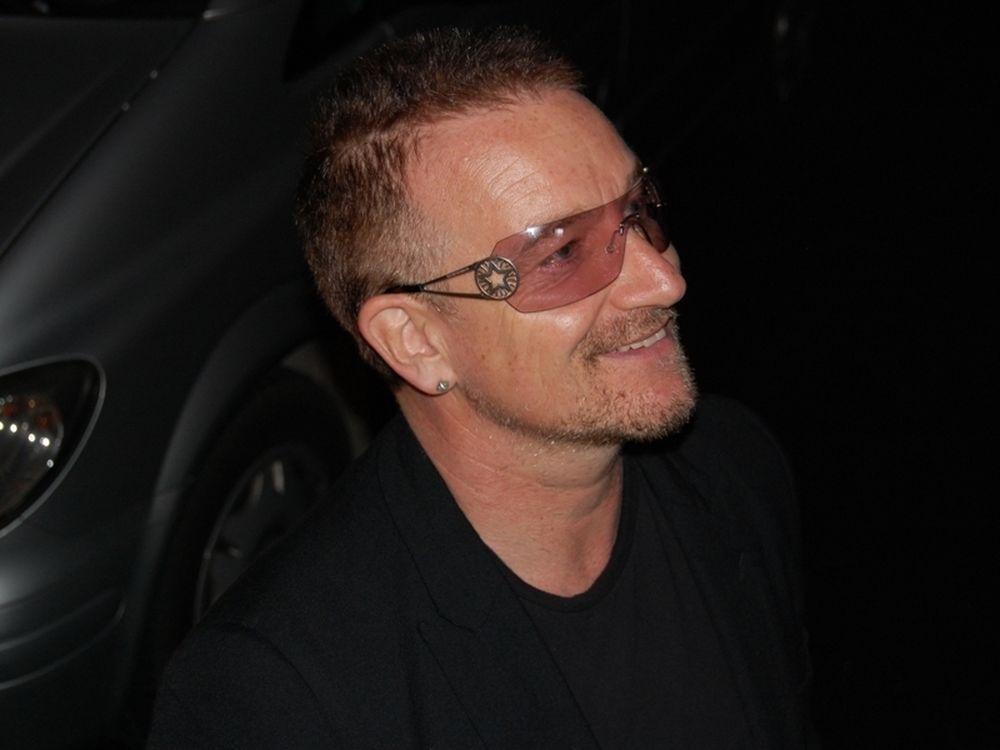 Το tattoo του Bono!