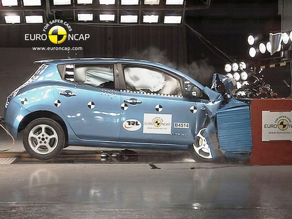 To Leaf στο Euro NCAP