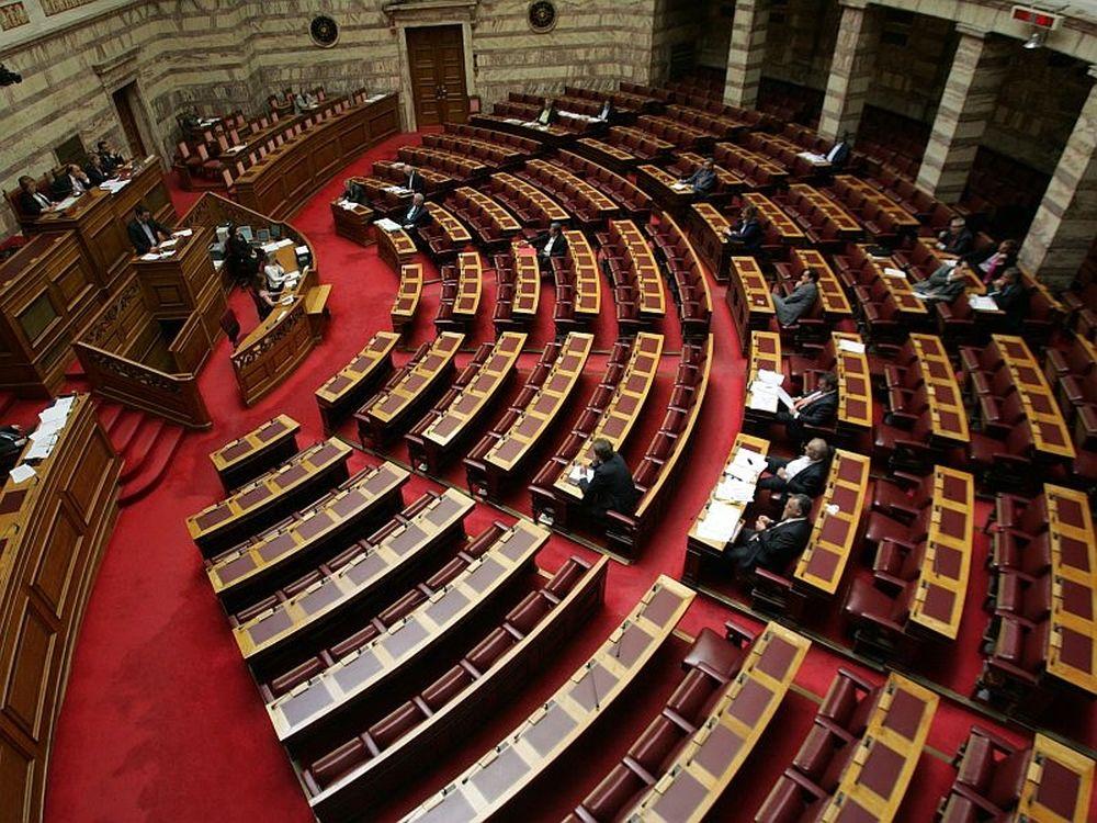 «Μούδιασμα» στη Βουλή…