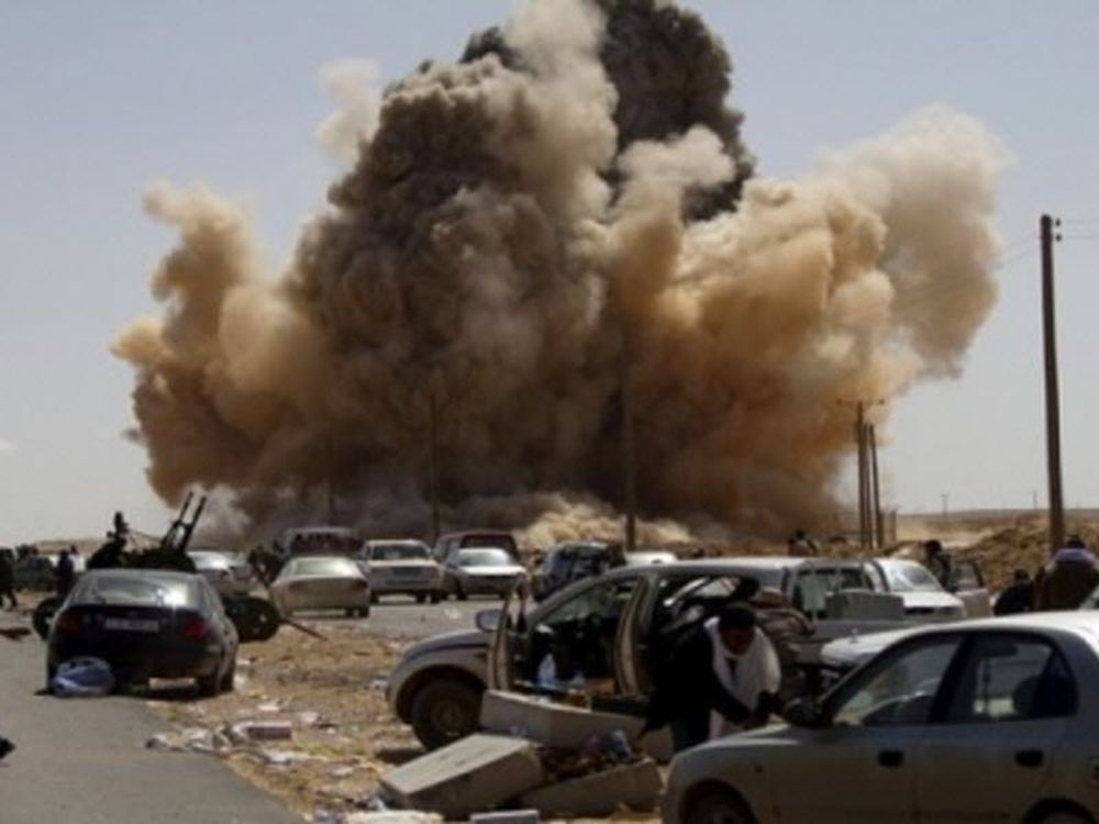 Βόμβα σε ξενοδοχείο της Βεγγάζης