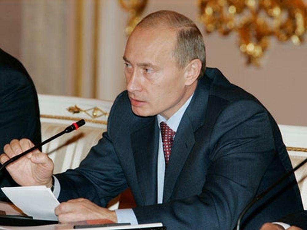 Ο Πούτιν για Μπλάτερ