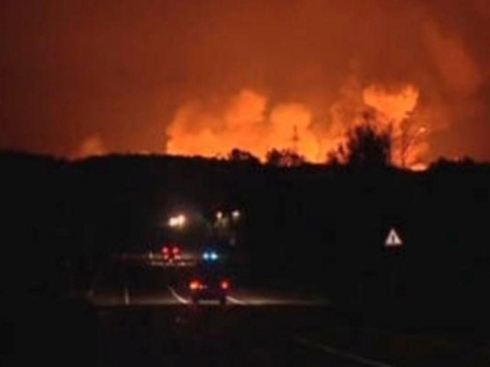 Μεγάλη πυρκαγιά στη Ρωσία