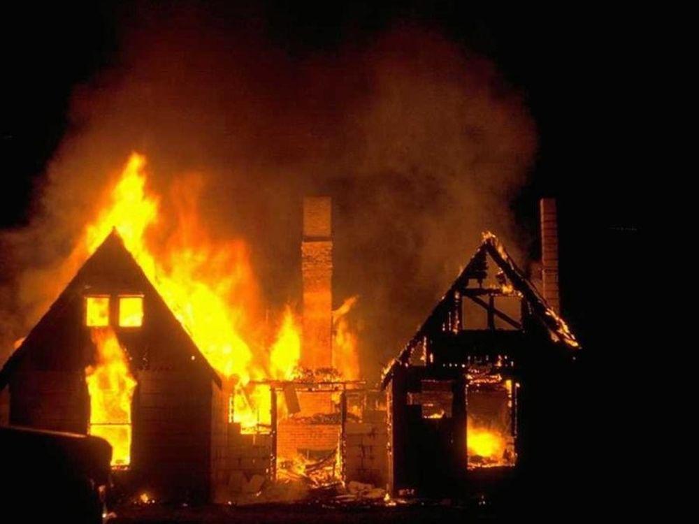 Το φλεγόμενο σπίτι