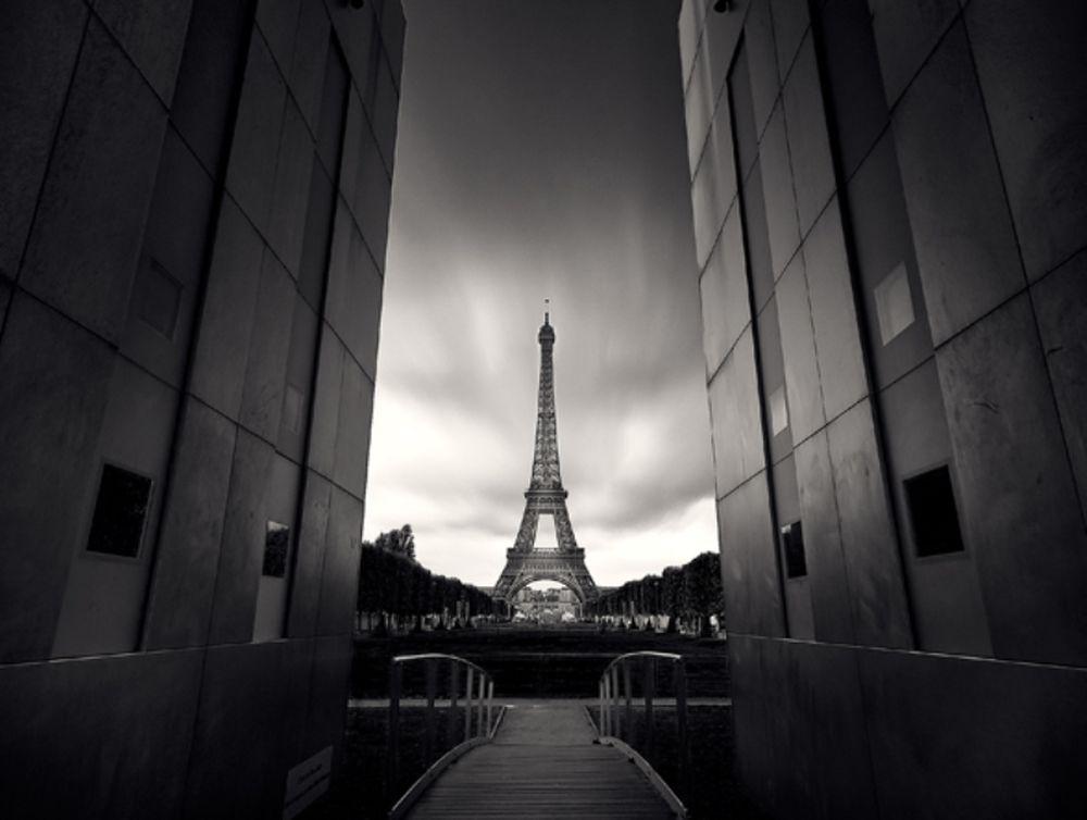 Το Παρίσι σε λευκό-μαύρο