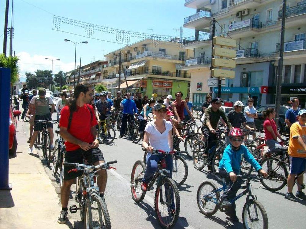 Ποδηλατόδρομος στη Χαλκίδα