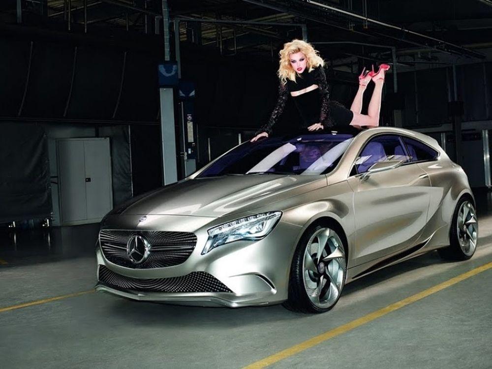 Η Stam διαφημίζει τη Mercedes