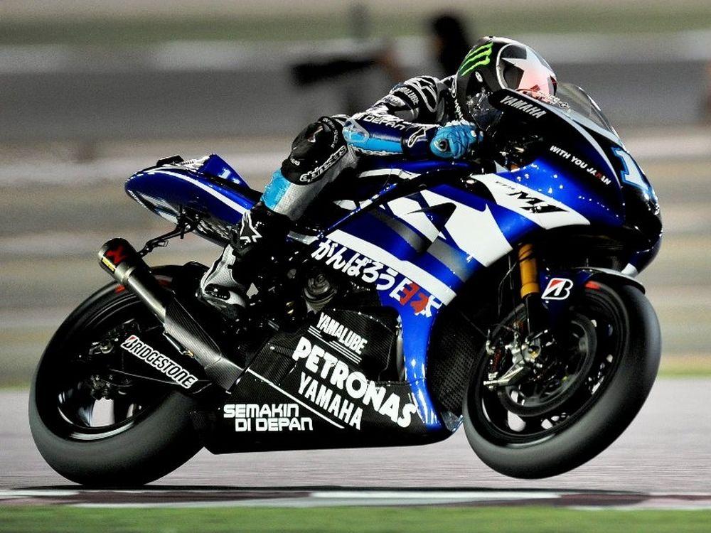 Ο Σπις στη Yamaha και το 2012