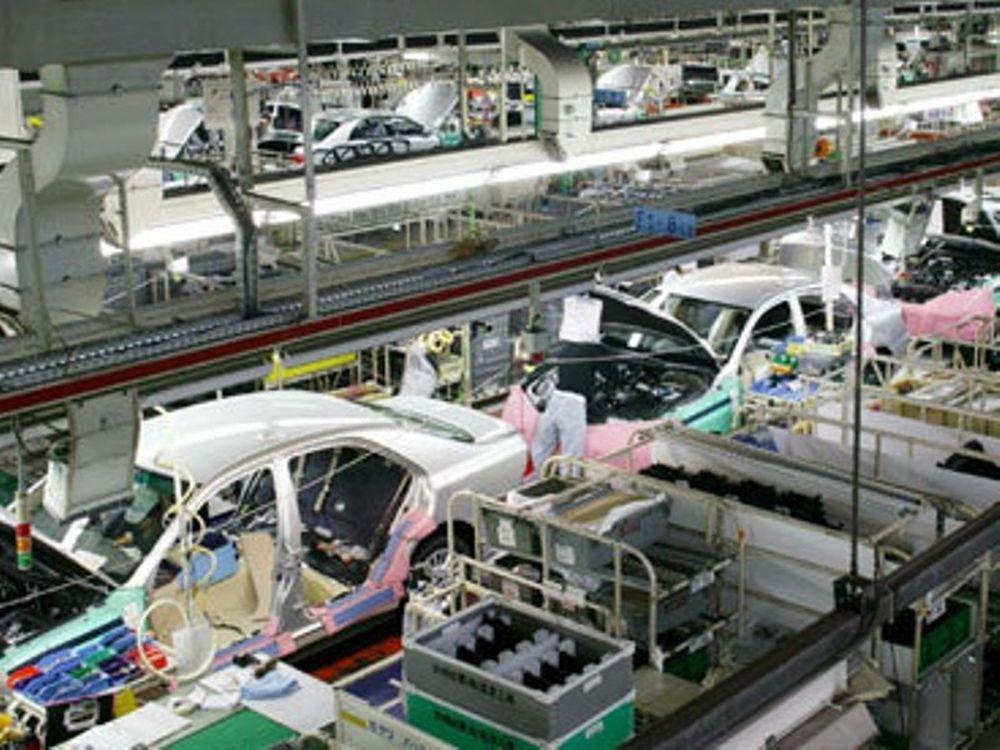 Μειώθηκε η παραγωγή σε Toyota και Honda
