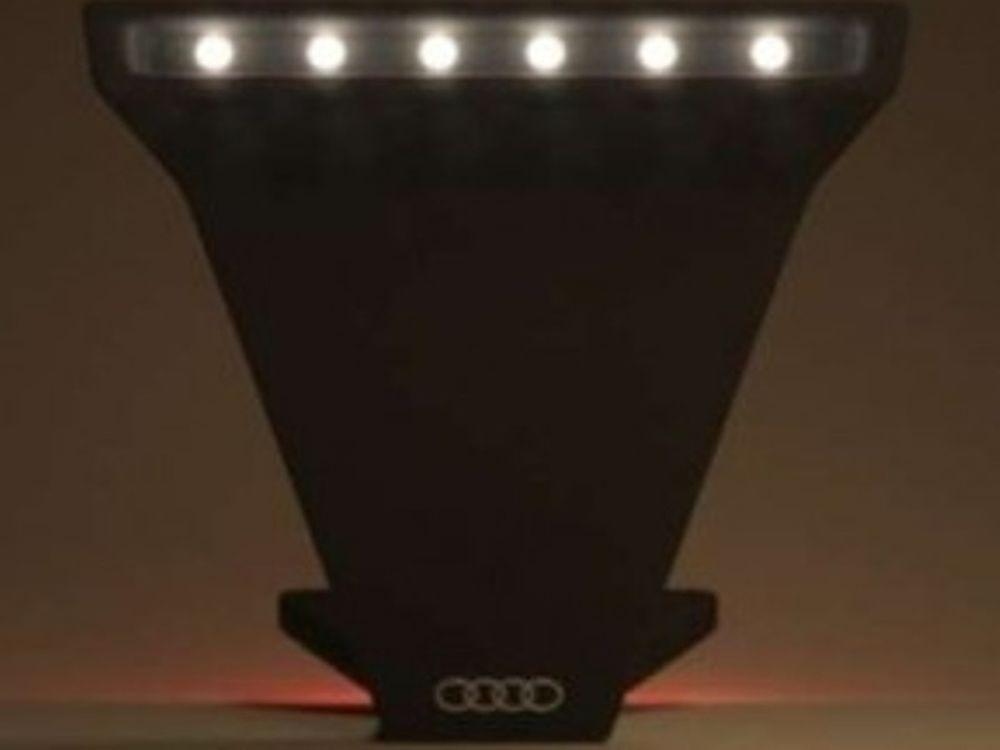 Λάμπες δαπέδου της Audi