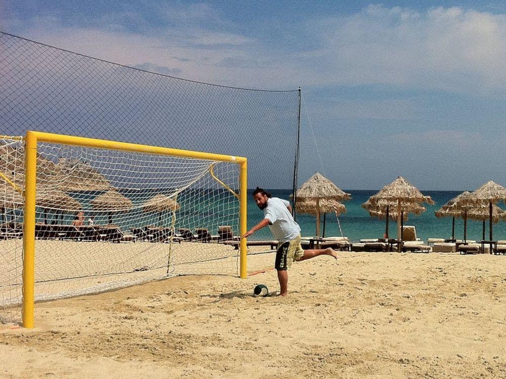Το Beach Soccer πάει Μύκονο