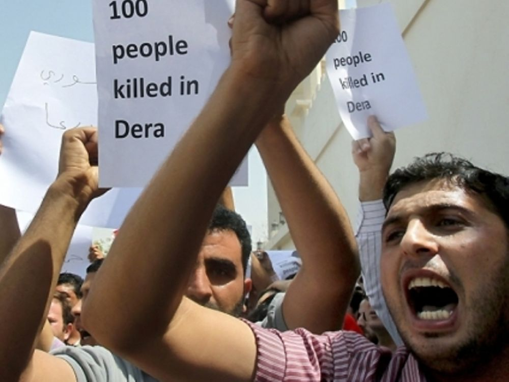 Δεκαέξι νεκροί στη Συρία