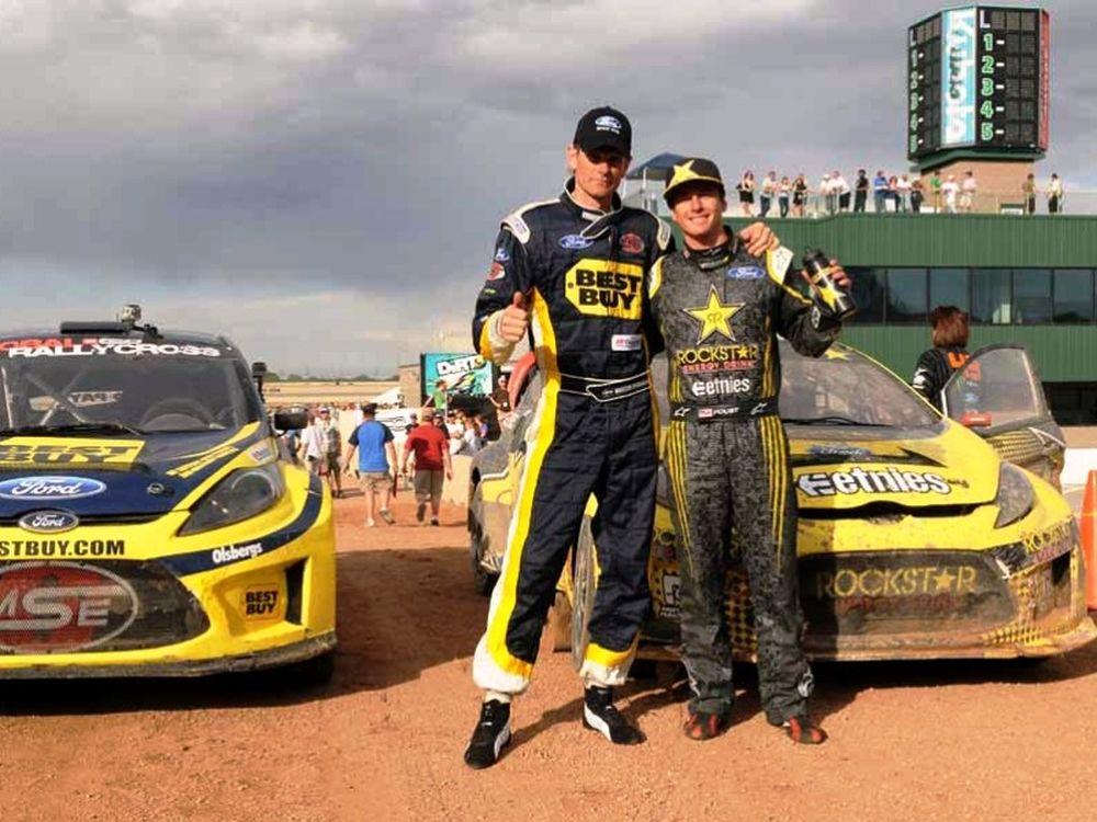 Fiesta στο Rallycross (video)
