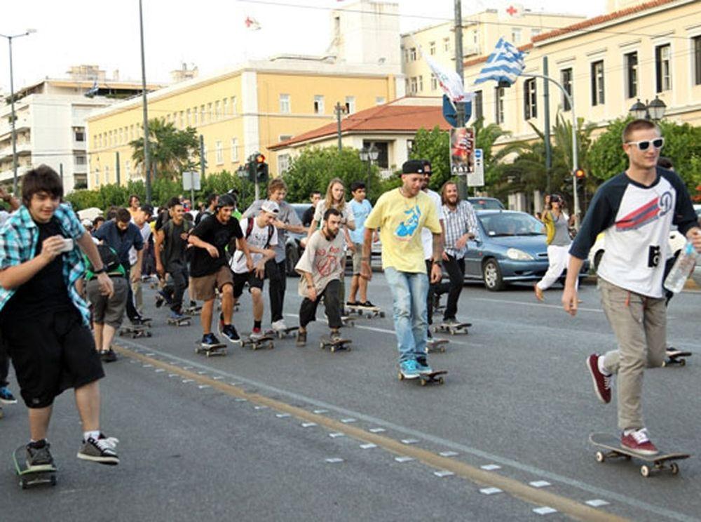 Παγκόσμια μέρα skateboarding