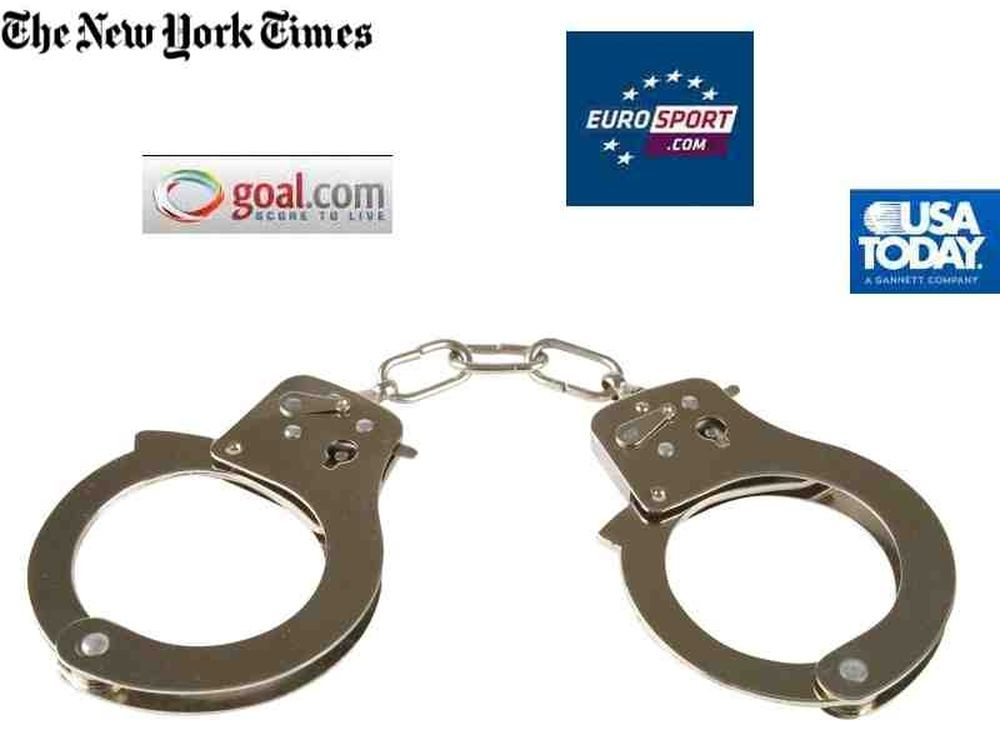 Το γύρο του κόσμου οι συλλήψεις