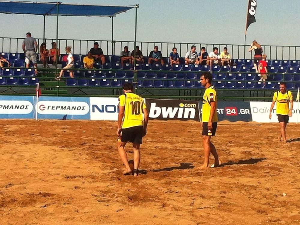 Δυνατοί αγώνες στο Beach Soccer