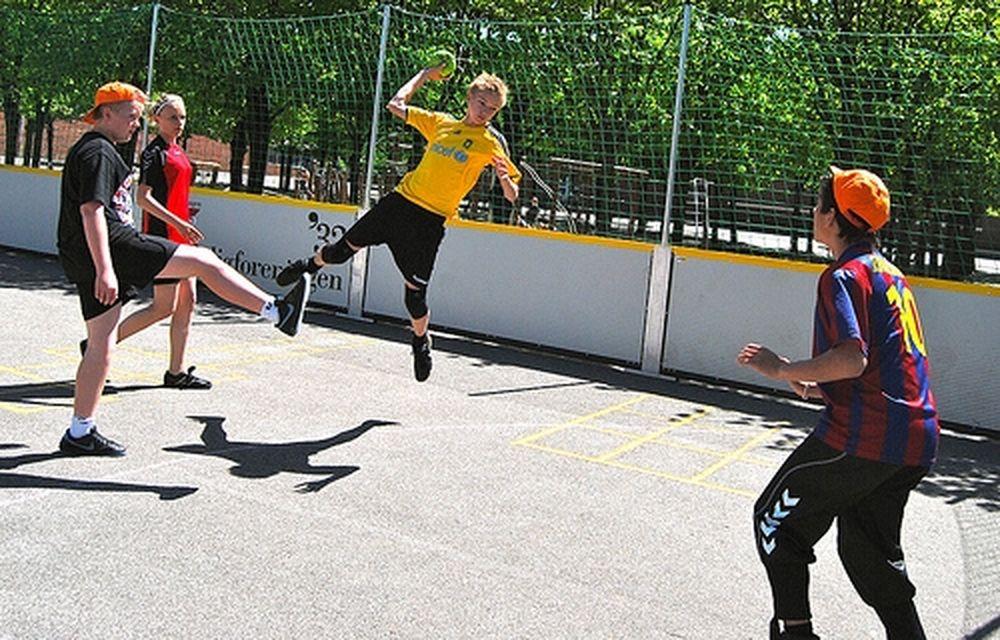 «Μαραθώνιος» street handball