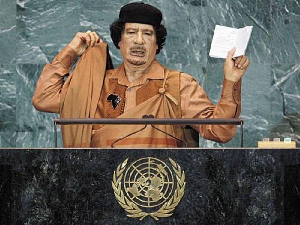 Ένταλμα σύλληψης για Καντάφι