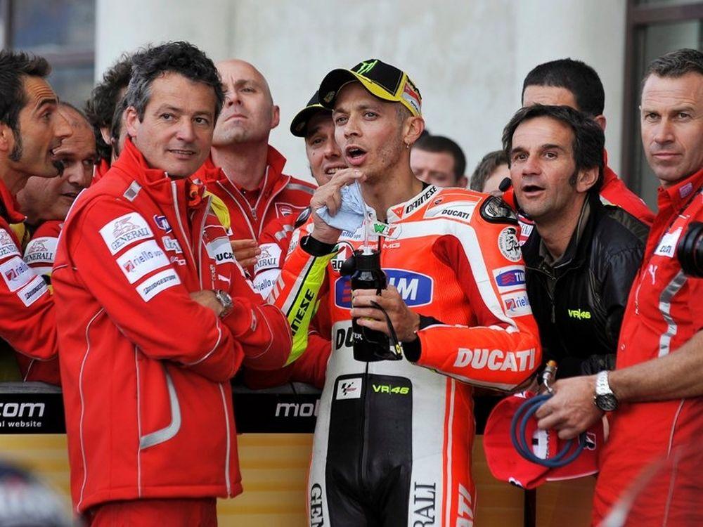 Απουσία στην Ducati