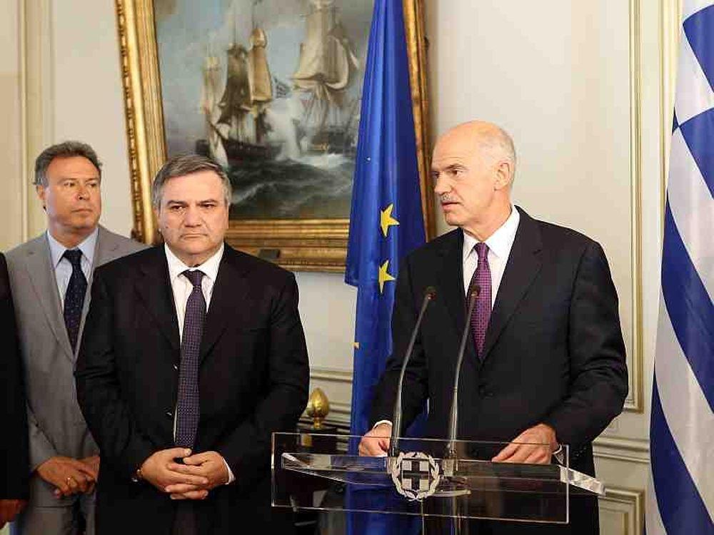 Συσκέψεις Παπανδρέου-Υπουργών