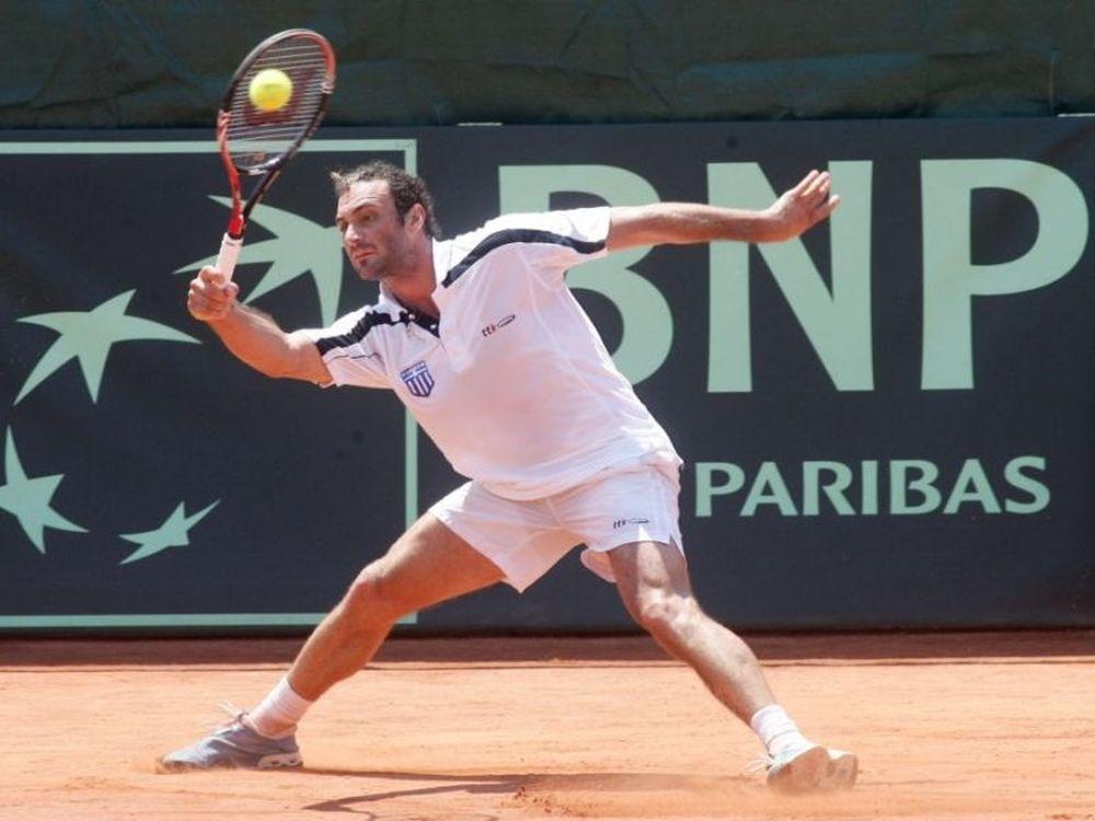 Άσχημο ξεκίνημα στο Davis Cup