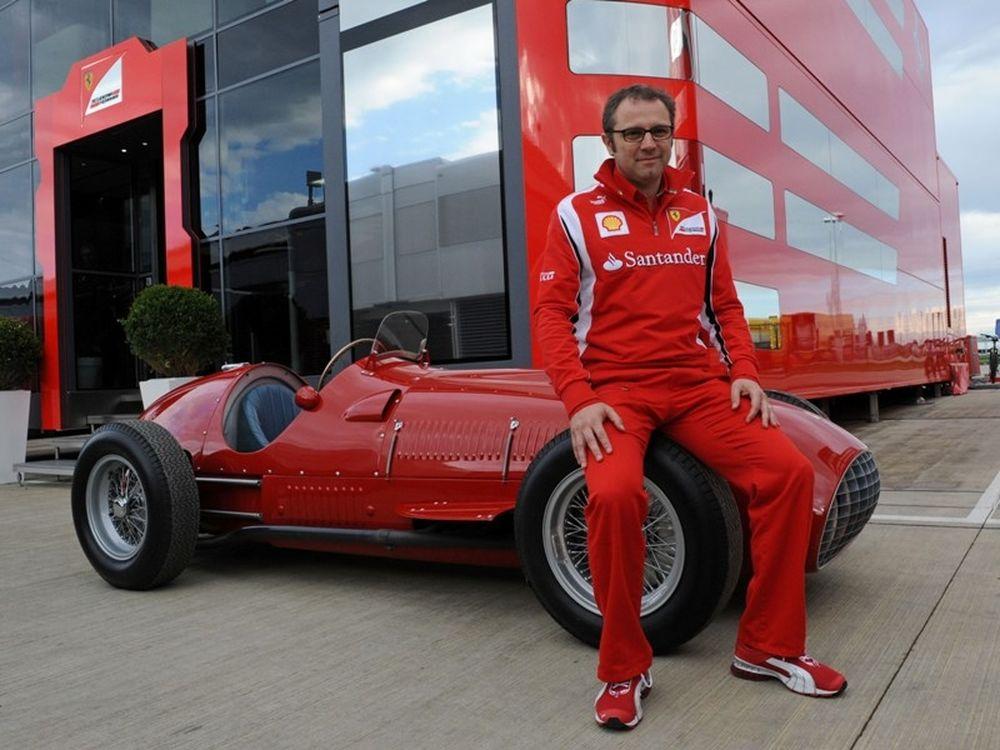 H Ferrari στο Σίλβερστοουν