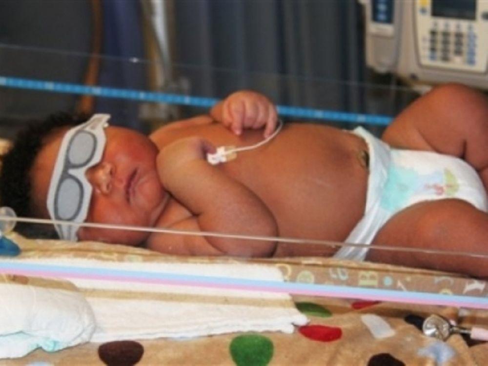 Νεογέννητο γίγας 7,3 κιλών!