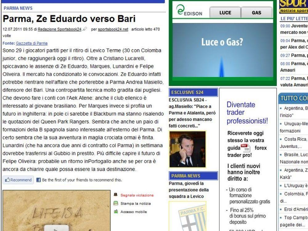 «Θέλει Ζε Εντουάρντο η ΑΕΚ»