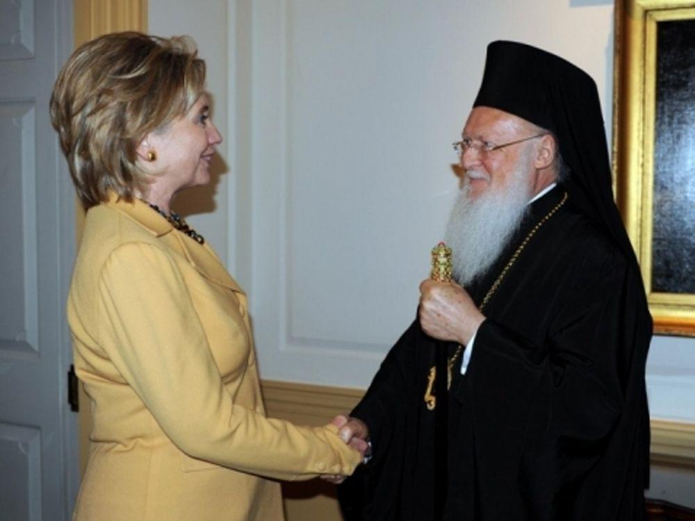 Επίσκεψη Κλίντον στο Πατριαρχείο