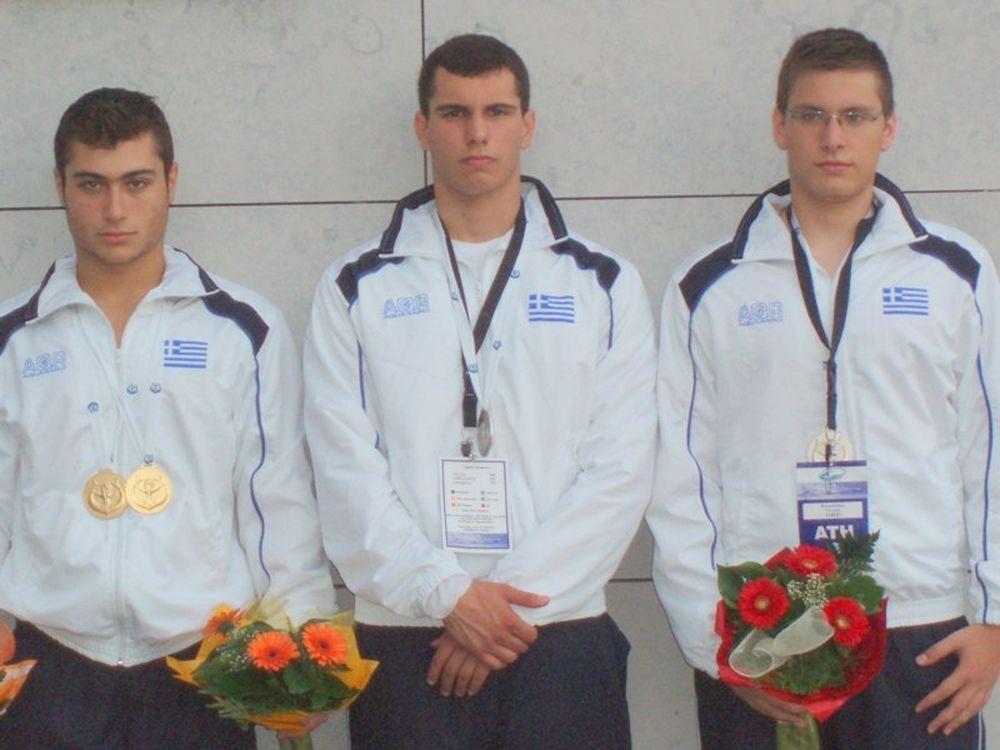 Πέντε νέα μετάλλια