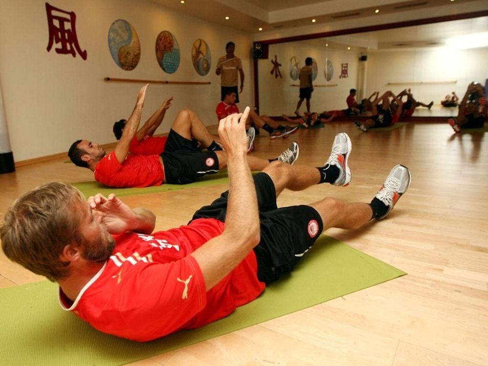 Στο γυμναστήριο οι «ερυθρόλευκοι»