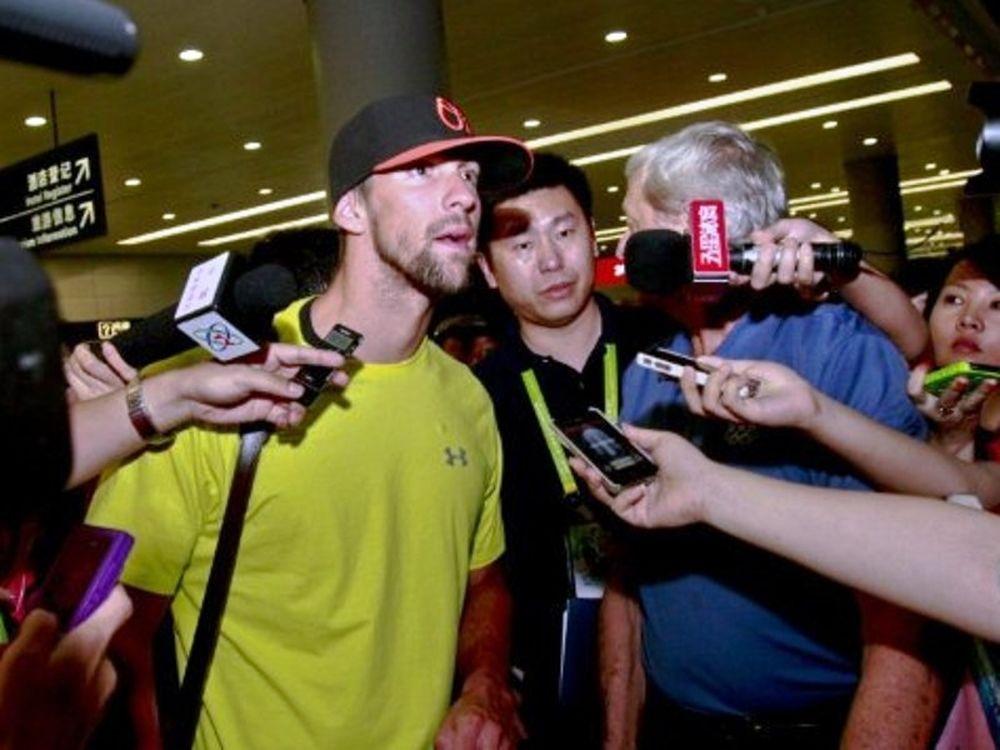 Έφτασε στη Σαγκάη ο Φελπς