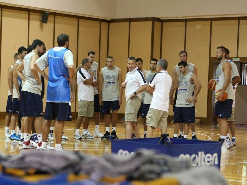 Στην Αθήνα η Εθνική Ανδρών